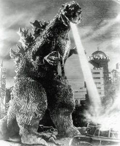 Godzilla Rayo Atómico