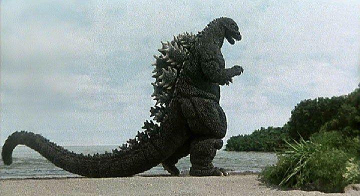 Godzilla monstruo