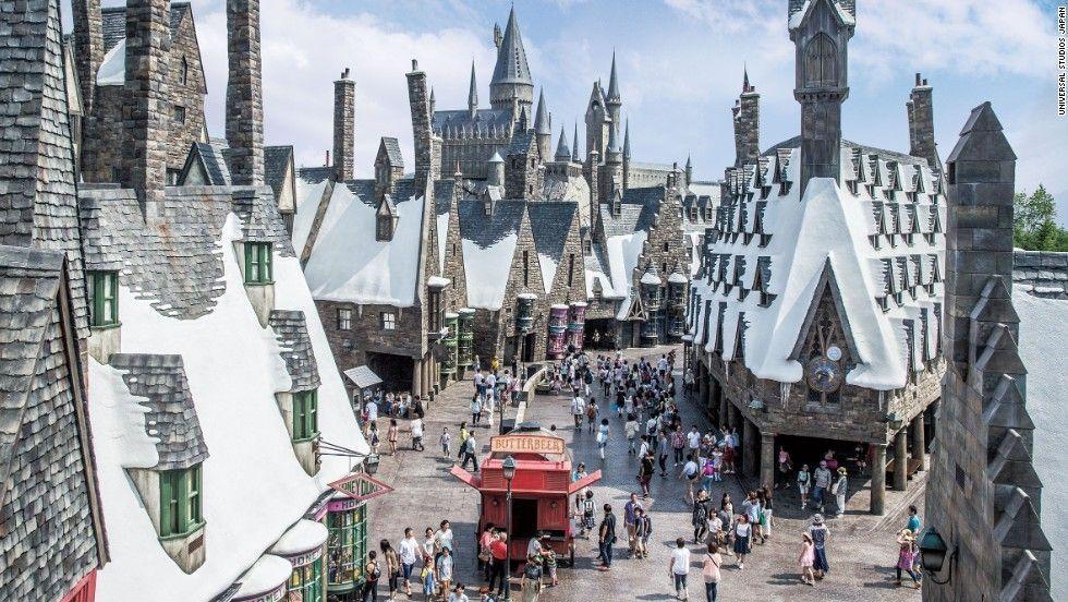 Universal Studios. Harry Potter