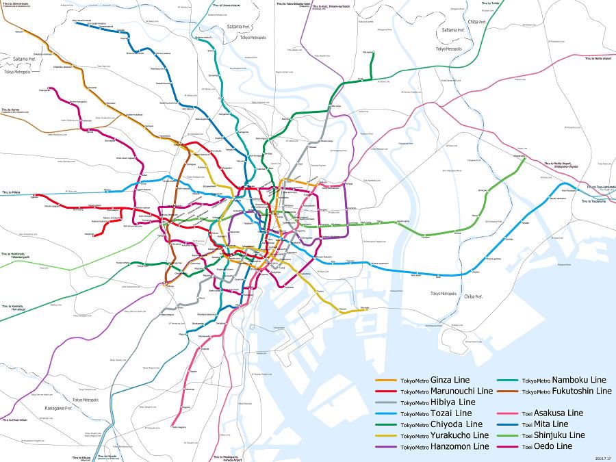 Datos de Tokio