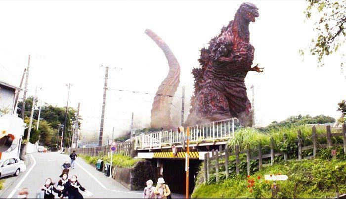 Godzilla destruye Japón