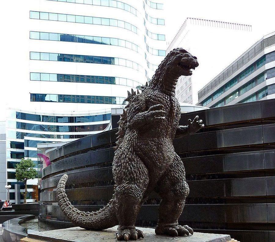 Godzilla en Ginza