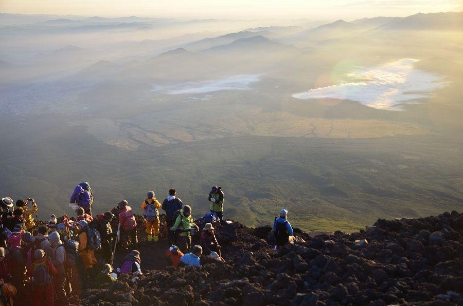 Subir al monte Fuji