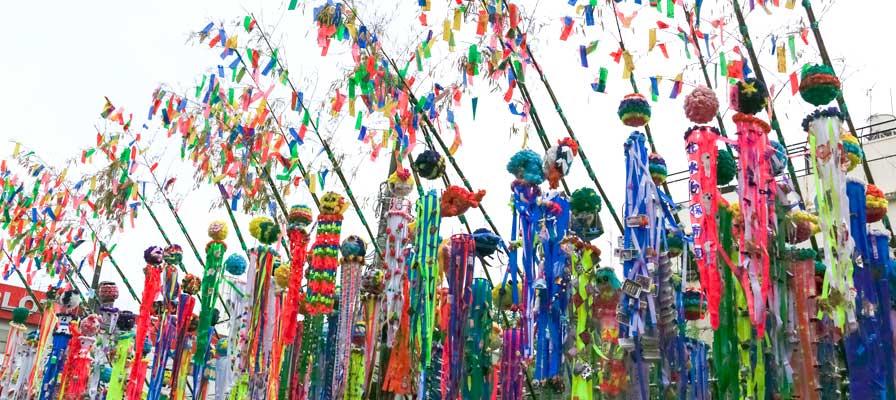 Tanabata matsuri. Japón en verano.
