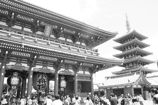 Guía de Tokio. Templo de Asakusa en Tokio