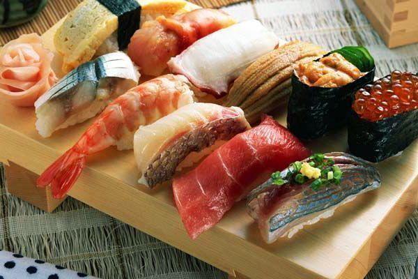 Guía de Tokio. sushi