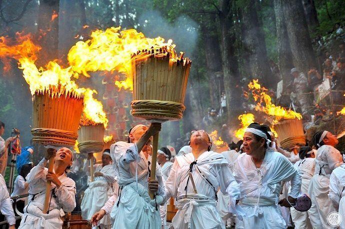 Festival de los abanicos de Nachi