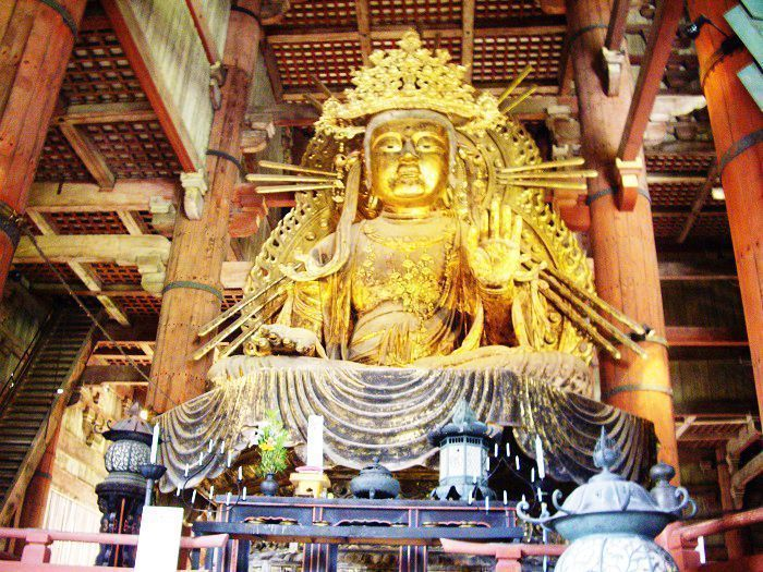 Buda del Templo Todaiji de Nara