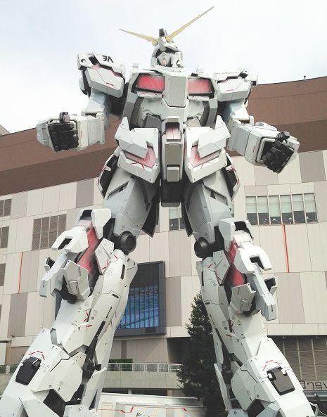 Ver Gundam en Tokio