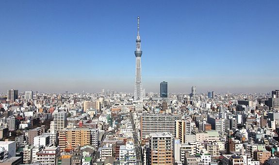 Comprar entradas para subir a Tokyo Skytree