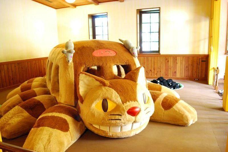 Comprar entradas para el museo Ghibli Gato-Bus del museo Ghibli.