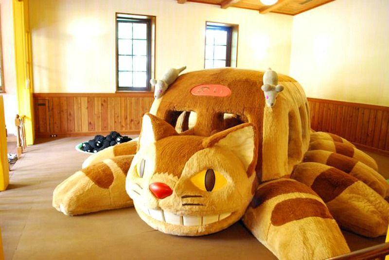Gato-Bus del museo Ghibli
