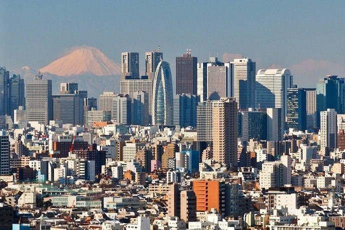 Guía en Tokio.
