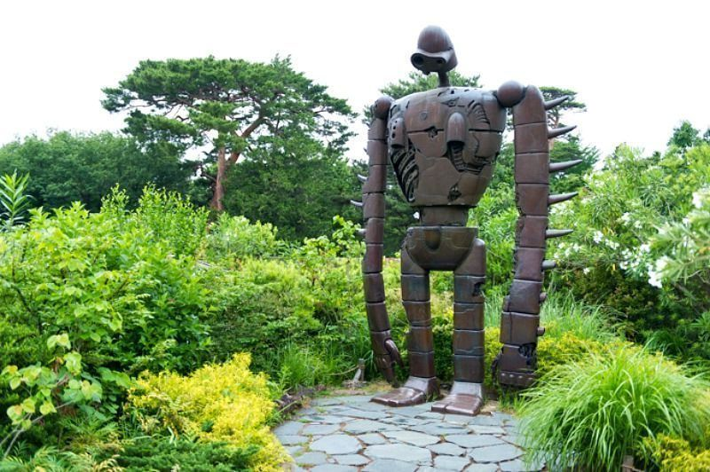 Comprar entradas para el museo Ghibli. Robot Laputa del museo ghibli de Tokio