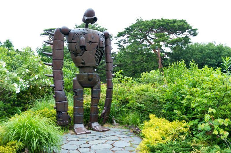 Robot Laputa del museo ghibli de Tokio