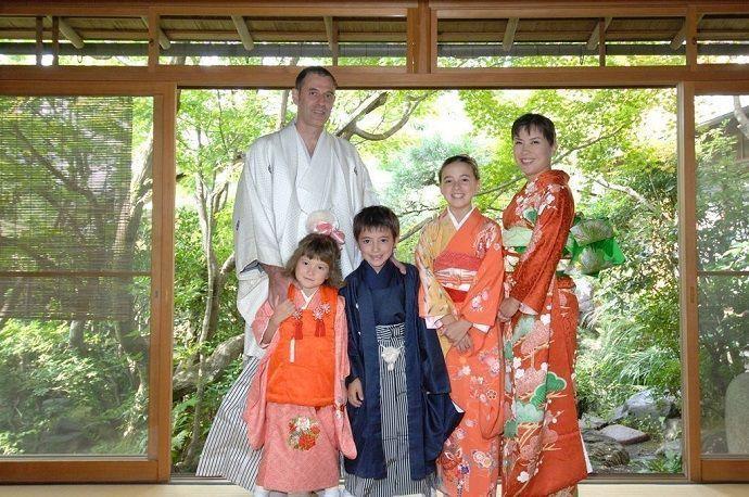 Alquilar kimono Kioto
