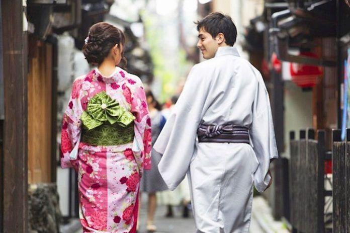 Alquilar kimono en Kioto. Reservar.