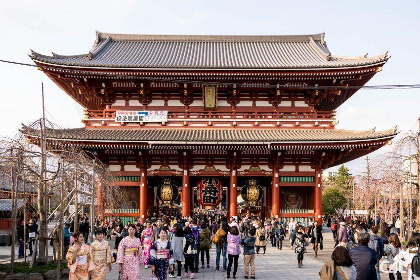 Alquilar un Kimono Asakusa. Tokio. Japonpedia