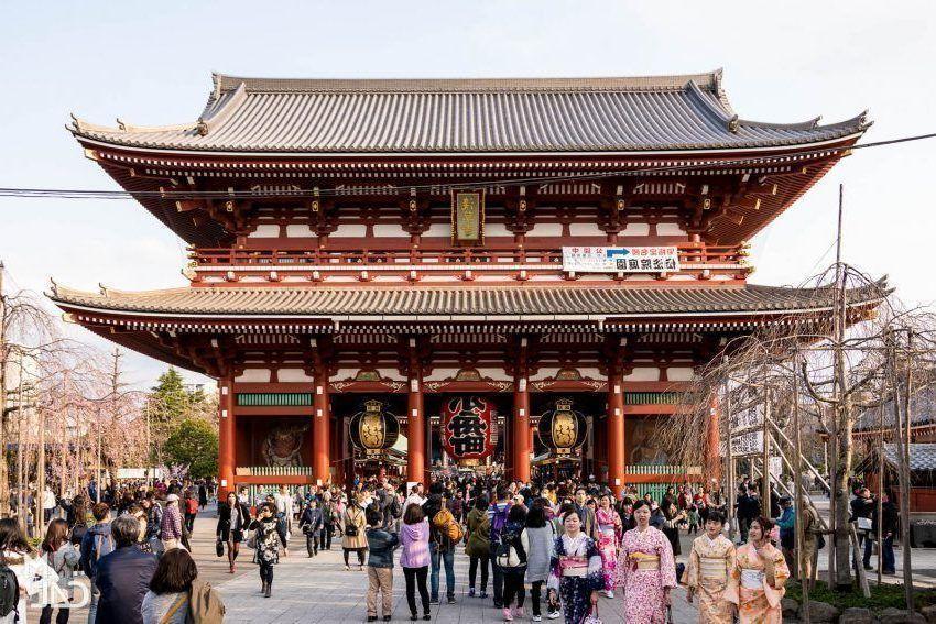 Alquilar un Kimono en Asakusa. Tokio.