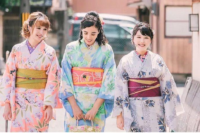 Alquilar un kimono en Kioto
