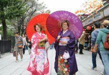 Alquilar Kimono Tokio