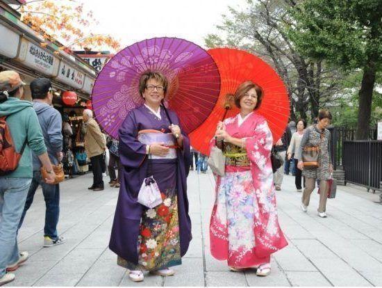Alquilar un Kimono en Asakusa Tokio