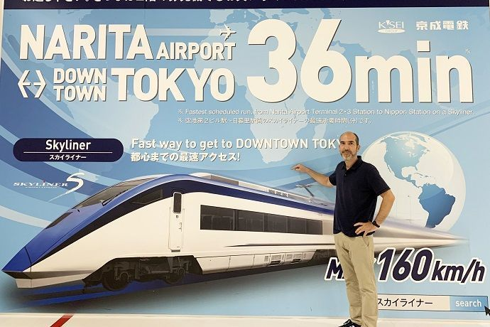 Tren Narita Tokio