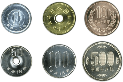 monedas japonesas Japonpedia