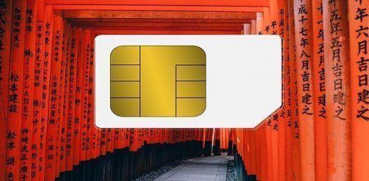 Tarjeta SIM internet Japón