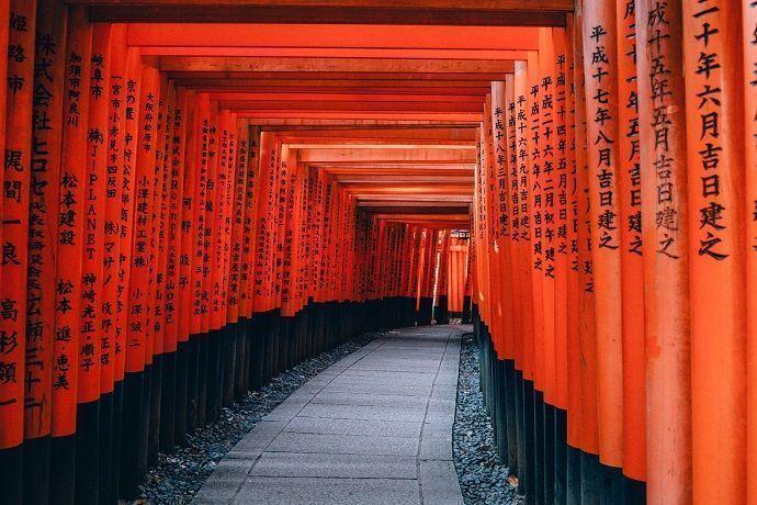 Fushimi Inari. Kioto