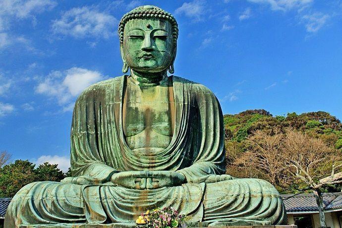 Gran Buda sentado de Kamakura.