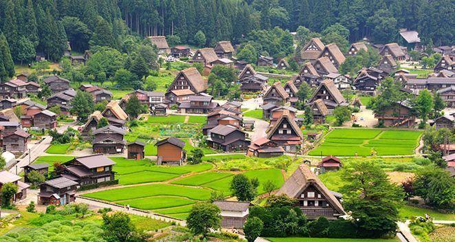 viajar a Japón - Shirakawago