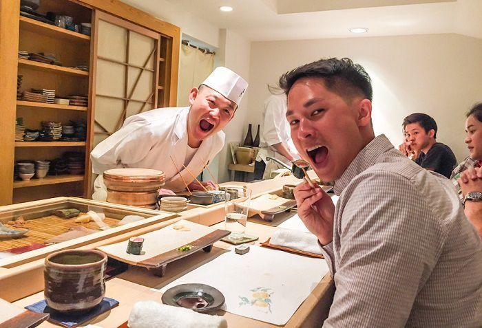 comer sushi en tokio-restaurante sushi sho masa