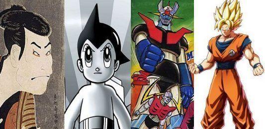 historia del manga y el anime