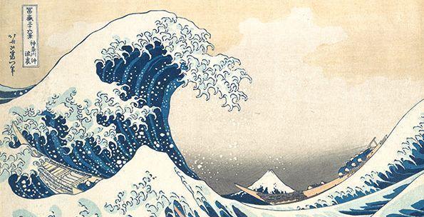 historia del manga y el anime - ukiyo-e