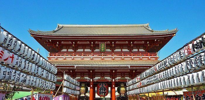 viajar a Japón - templo Asakusa Tokio