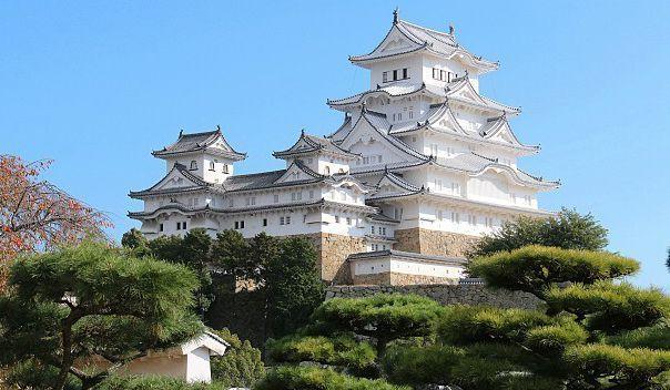 Viajar a Japón - Castillo himeji.