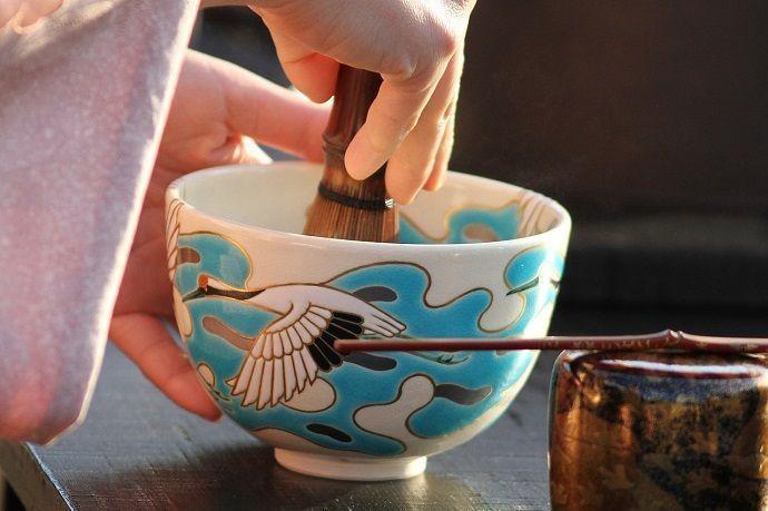 Ceremonia del té en Kioto.