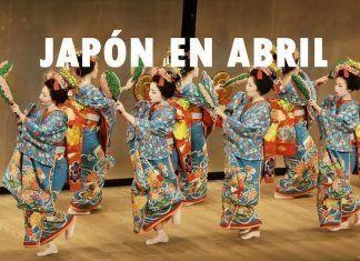 Japón en abril