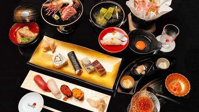 Reservar crucero en Tokio con cena. Menú.