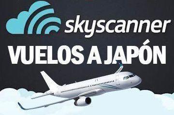 Comprar vuelos a Japón Skyscanner