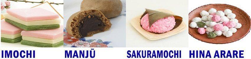 dulces Hinamatsuri