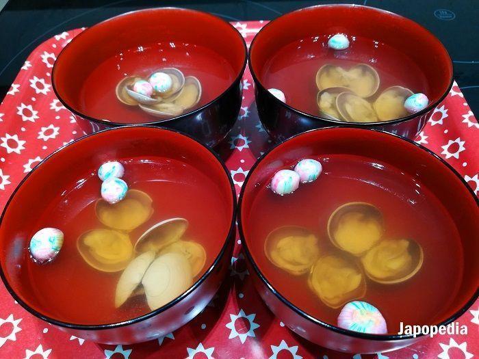 Hinamatsuri comidas