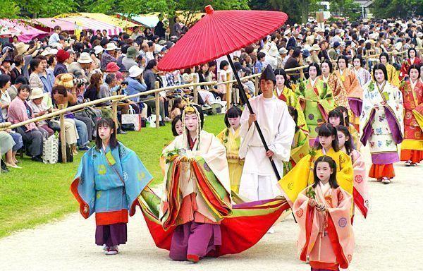 Aoi Matsuri. Festival de las alceas