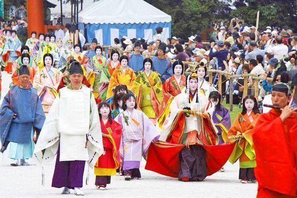 Aoi matsuri. Festival de las Alceas.