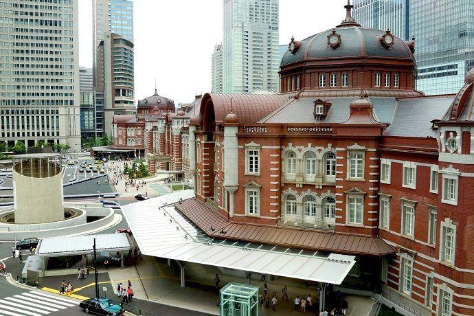 Visitas guiadas por Tokio. Estación central de Tokio.