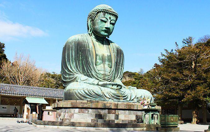 Excursión a Kamakura y Yokohama. Gran buda de Kamakura.