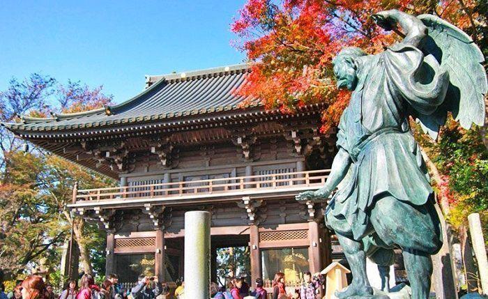 Visita guiada al monte Takao. Templo Yakouin.