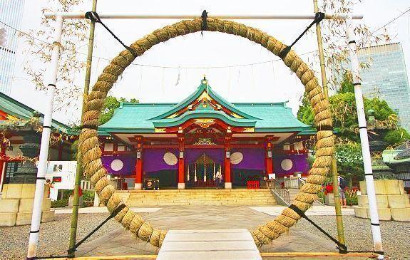 Sanno Matsuri fiesta sintoista