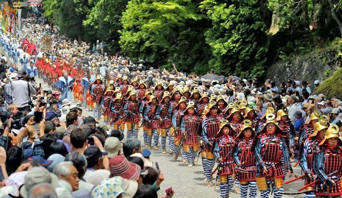 Shunki Reitaisai. Festival de Nikko